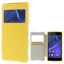 MercuryMercury Wow Bumper View Plånboksfodral till Sony Xperia Z2 - Gul