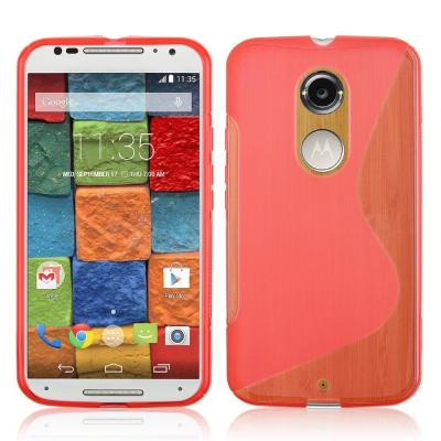 Flexicase Skal till Motorola Moto X2 - Röd
