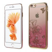 CrawfordCrawford Skal med Swarovski-stenar till iPhone 6 / 6S - Flower & Butterfly