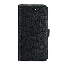 GEAROnsala Collection äkta läder Plånboksfodral iPhone XS / X - Svart