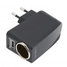 LogiLinkLogiLink 230V -> Cigguttag+USB-port 1A