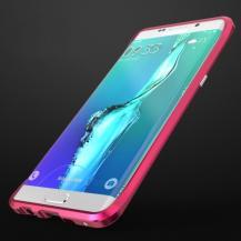 LuphieLUPHIE Rapier Prismatic Aluminum Bumper till Samsung Galaxy S6 Edge Plus - Rosa