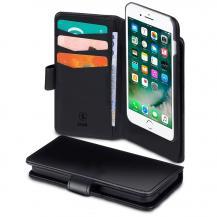 SiGNSiGN Plånboksfodral 2-in-1 för iPhone 6/7/8/SE 2020 - Svart