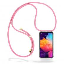 CoveredGear-NecklaceCoveredGear Necklace Case Samsung Galaxy A50 - Pink Cord