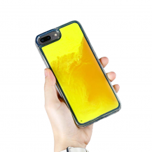 A-One BrandLiquid Neon Sand skal till iPhone 7/8 Plus - Orange