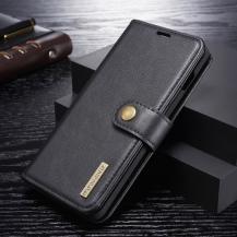 DG.MINGDG.MING Plånboksfodral 2-i-1 Split för Samsung Galaxy S10 Plus - Svart
