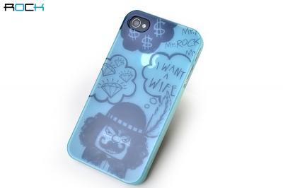 Mr.Rock Series Skal till Apple iPhone 4S/4 (Blå)