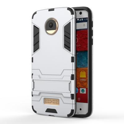 Hybrid Mobilskal Motorola Moto Z - Silver