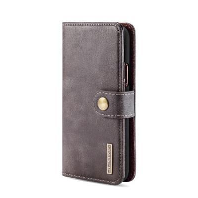 DG.MING 2-in-1 Plånboksfodral för iPhone 11 Pro - Kaffe