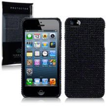 A-One BrandBling Bling skal till Apple iPhone 5/5S/SE (Svart)
