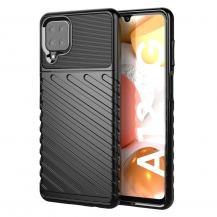 A-One BrandThunder Twill Mobilskal Samsung Galaxy A12 - Svart