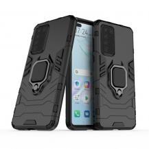 A-One BrandHybrid Ring Mobilskal till Huawei P40 - Svart