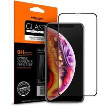 SpigenSPIGEN Härdat Glas Fc iPhone 11 Pro Max Svart