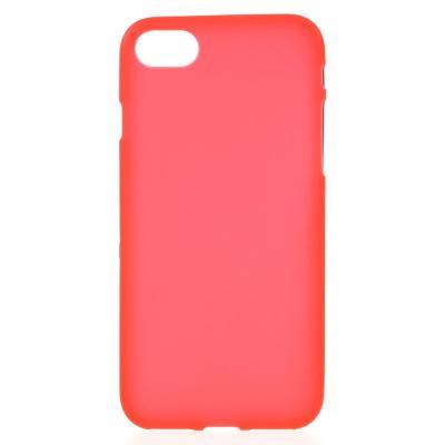 Matte Mobilskal till iPhone 7/8/SE 2020 - Röd