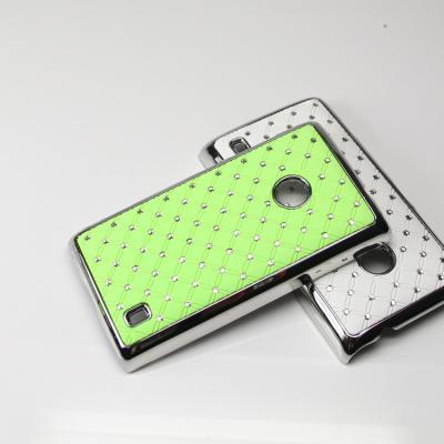 Diamante Skal till Nokia Lumia 520 (Grön)