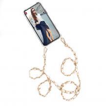 Boom of SwedenBOOM OF SWEDEN - Halsband mobilskal till iPhone X - Chain White