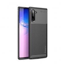 iPakyIPAKY Carbon Fiber Skal för Samsung Galaxy Note 10 - Svart
