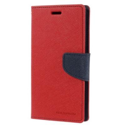 Mercury Fancy Plånboksfodral till Sony Xperia Z3 - Röd