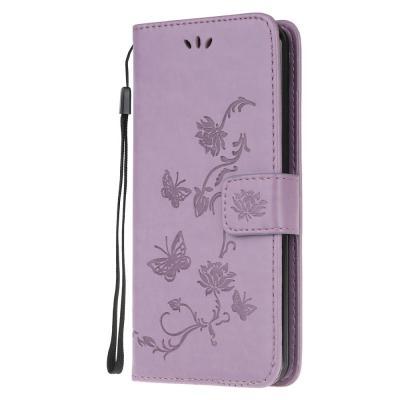 Butterfly Plånboksfodral till Huawei P40 - Lila