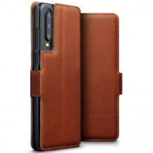 TerrapinQubits Genuine Plånboksfodral till Huawei P30 - Brun