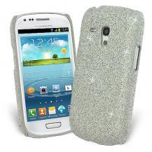 OEMGlitter Skal till Samsung Galaxy S3 mini i8190 + Skärmskydd (Silver)