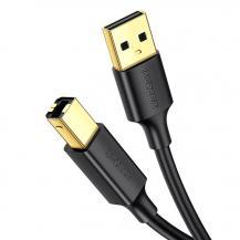 UGrönUGreen USB Type B printer Kabel 3m Svart