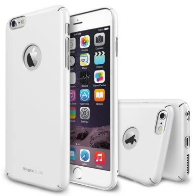 Ringke Logo-Cut Slim Dual Coated Skal till Apple iPhone 6(S) Plus - Vit