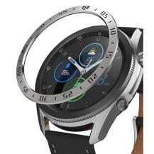 RingkeRINGKE Bezel Styling Galaxy Watch 3 (45mm) - Stainless Silver