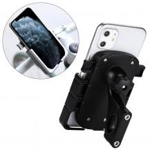 HurtelJusterbar telefon cykelhållare Svart