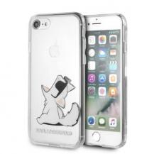 KARL LAGERFELDKarl Lagerfeld skal iPhone 7/8 Choupette Fun transparent