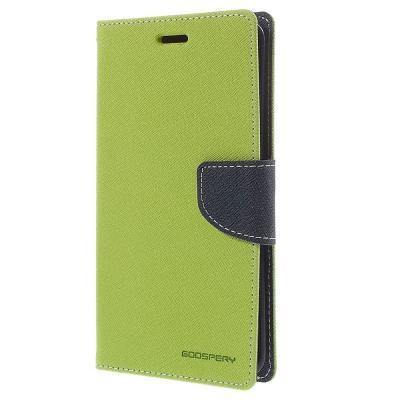 Mercury Fancy Diary Plånboksfodral till Samsung Galaxy Note Edge - Grön