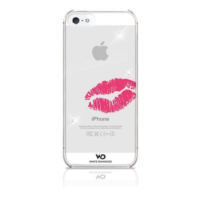 WHITE-DIAMONDS Lipstick Heart Apple iPhone 5/5S/SERosa