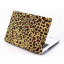 "A-One BrandSkal till MacBook Pro 15"" Retina - Gul Leopard"