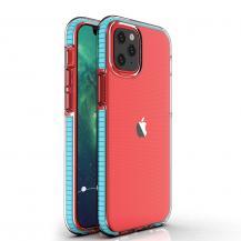 HurtelSpring Case iPhone 12/12 Pro skal ljus Blå