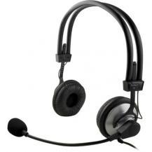 DeltacoDeltaco headset,volymkontroll på kabeln - Svart