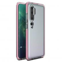 HurtelSpring Case skal Mi Note 10/10 Pro/Mi CC9 Pro Rosa