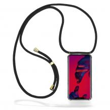 CoveredGear-NecklaceCoveredGear Necklace Case Huawei Mate 20 Pro - Black Cord