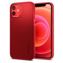 SpigenSPIGEN Thin Fit iPhone 12 & 12 Pro Röd