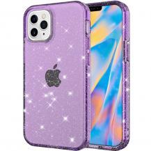 A-One BrandGlitter TPU Skal iPhone 12 Mini - Lila
