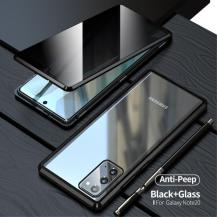 OEMMagnetic Metal Skal Till Galaxy Note 20 - Svart