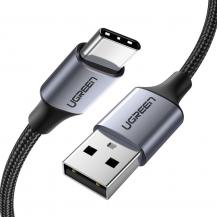 UGrönUGreen USB Type C Kabel snabb laddning 3.0 3A 2m Grå