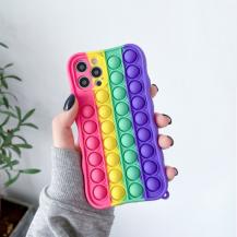 Fidget ToysPop it Fidget Skal iPhone 7/8/SE 2020 - Multicolor