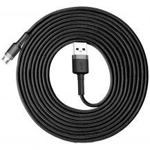 BASEUSBASEUS Cafule Micro-Usb Cable 300 cm Grå / Svart