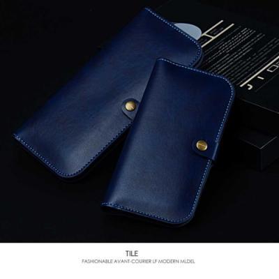 JLW universalt plånboksfodral - Mörkblå