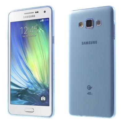 Ultra-Thin 0.6mm Flexicase Skal till Samsung Galaxy A7 - Blå