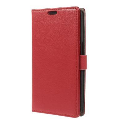 Embossed Plånboksfodral till Google Nexus 6 - Röd