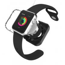VCOERVCOER Skyddande laddningsskal till Apple Watch 38mm / 42mm - Svart