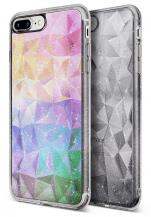 RearthRingke Air Prism Glitter Skal till iPhone 8 Plus / 7 Plus - Grå