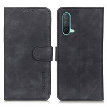 KHAZNEHKHAZNEH Plånboksfodral OnePlus Nord CE 5G - Svart