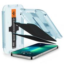 SpigenSpigen 2-Pack Privacy Härdat Glas iPhone 13 Pro Max